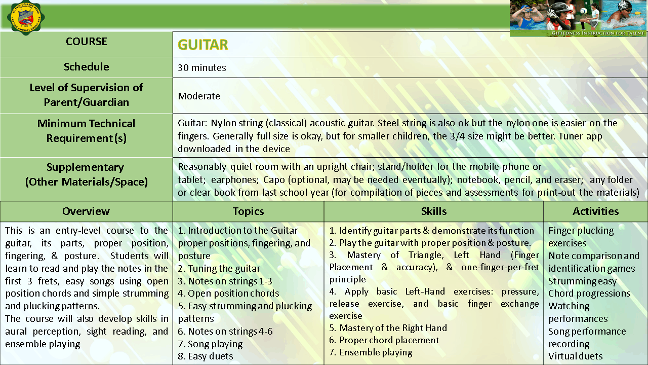 GUITAR EMERGING