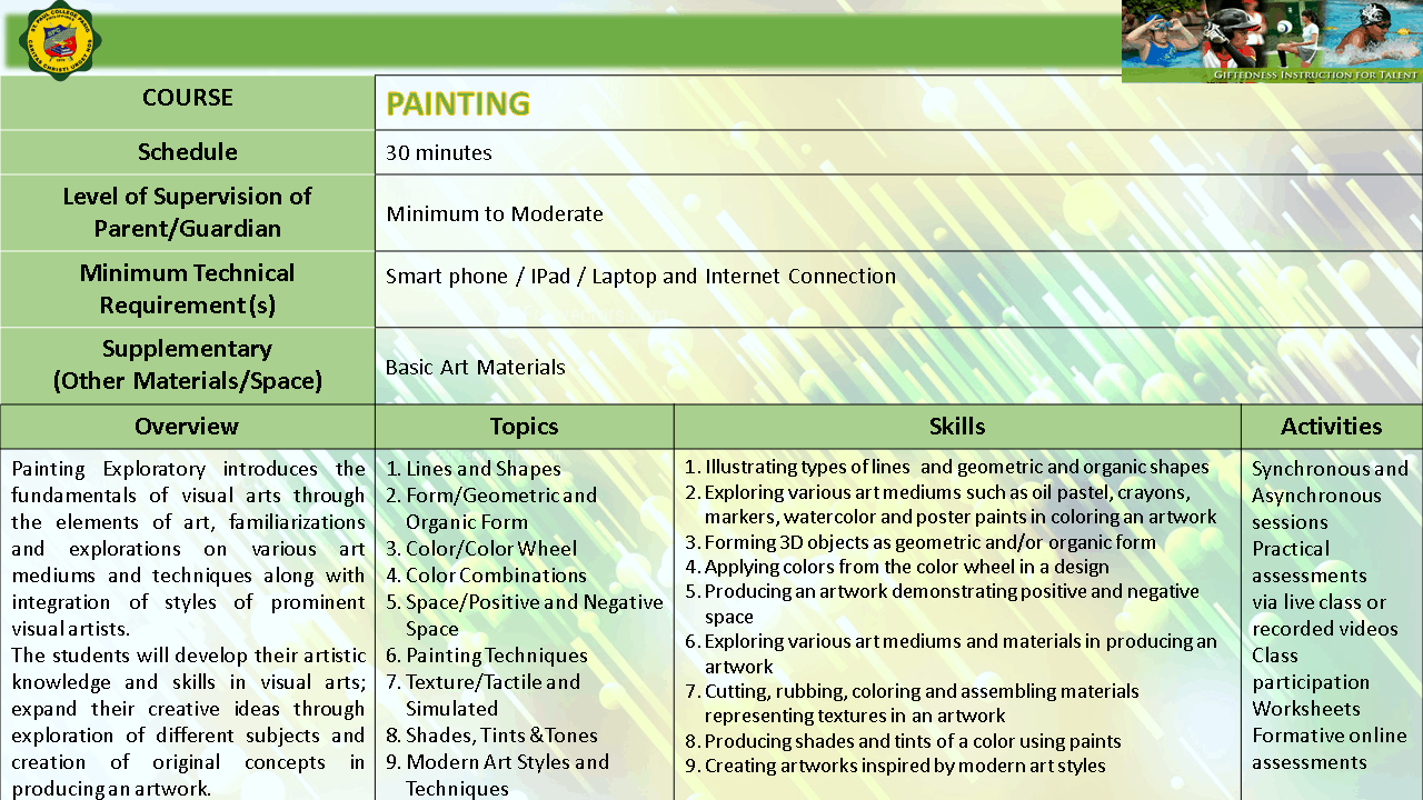 PAINTING EXPLO