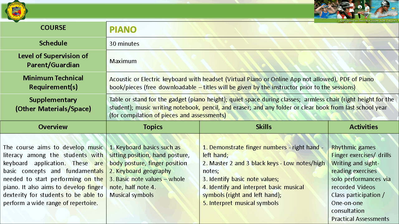 PIANO EXPLO