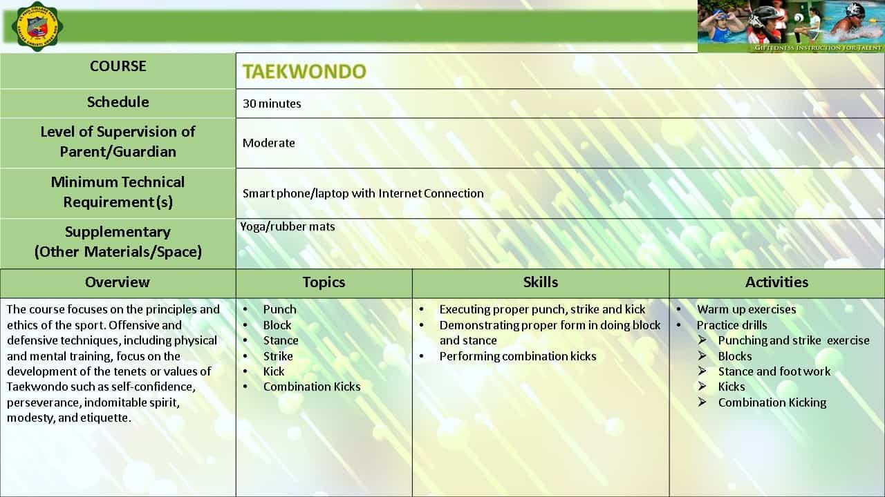 TAEKWONDO EMERGING