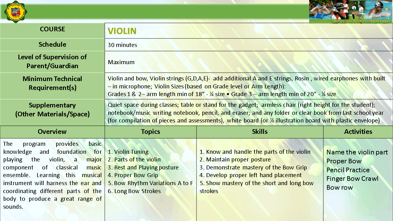 VIOLIN EXPLO